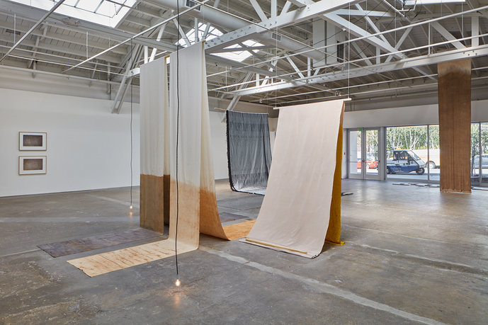 Susanne Kriemann 'Canopy, canopy', Exhibition view CCA Wattis, San Francisco, California, 2018