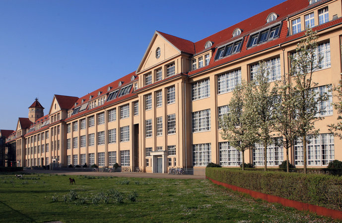 HfG Karlsruhe is located in a former ammunition factory
